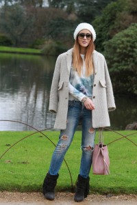 Boyfriend Jeans Outfit Autumn Winter Outfit