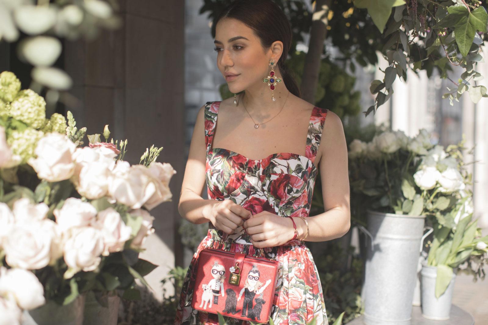 Dolce Gabbana Floral Princess