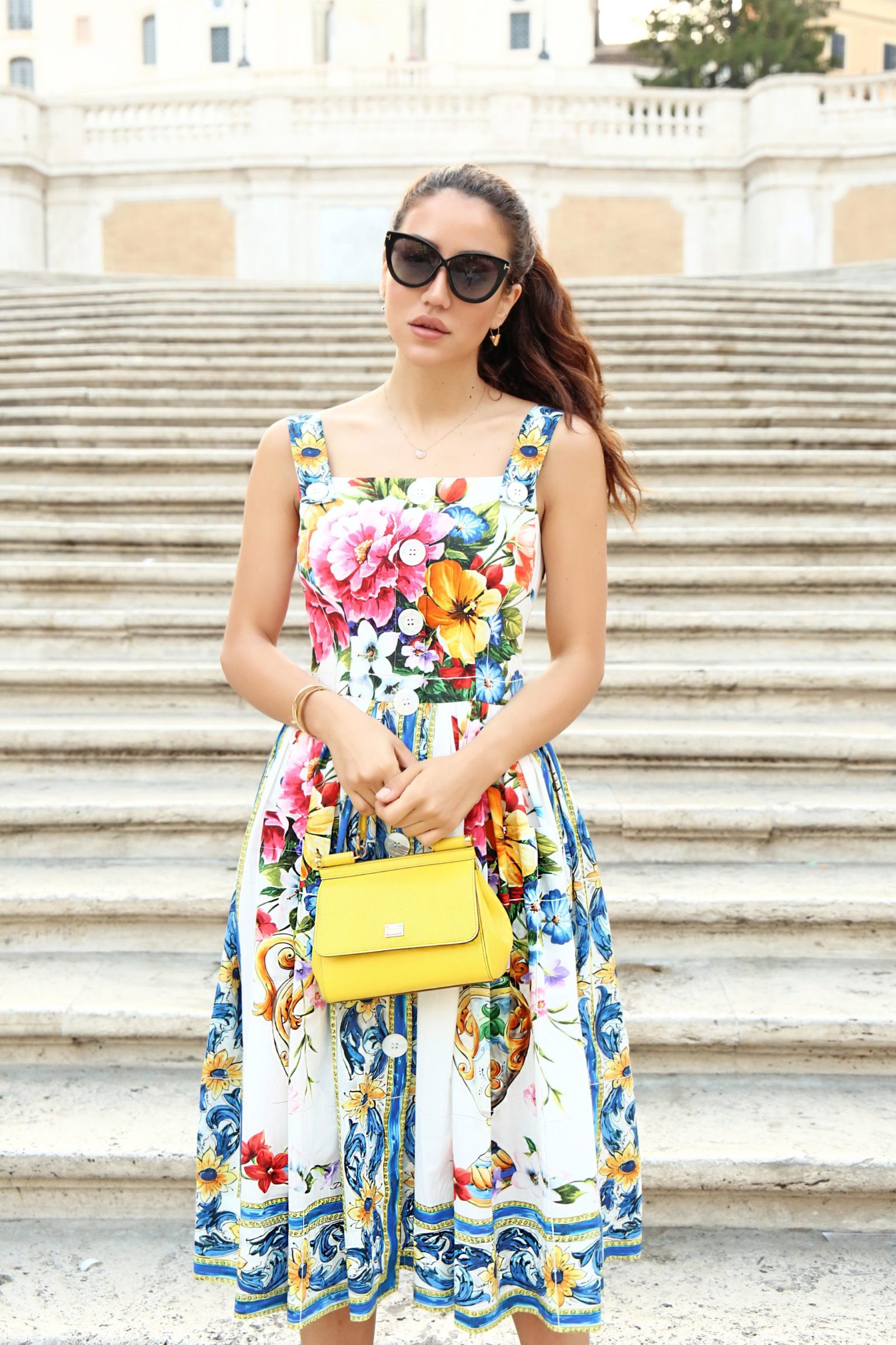 Dolce & Gabbana Majolica Print