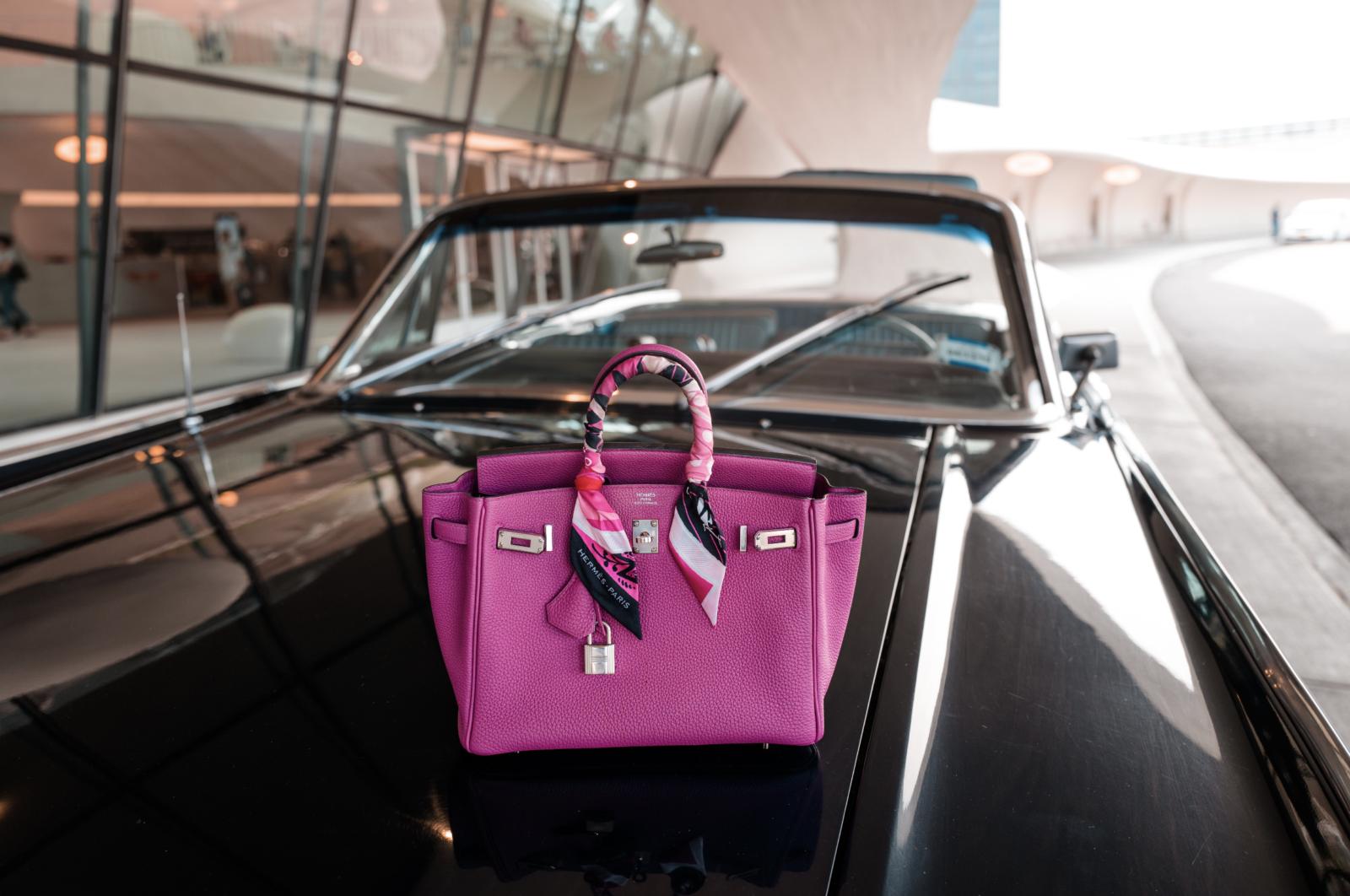 Birkin Bag Rose Pourpre